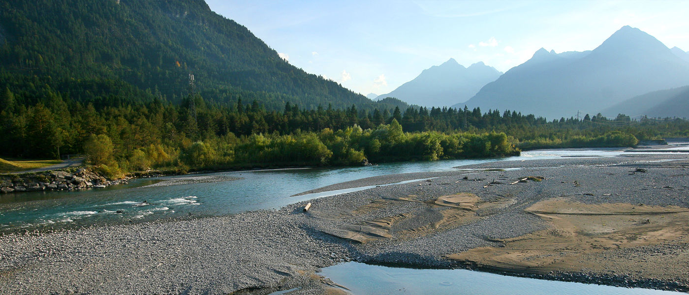 Der Wildfluss Tiroler Lech